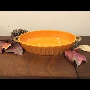 New Pumpkin Design Oval Baking Dish